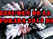 Resumen temporada 2013