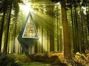 viviendas eficientes planeta camufladas entre árboles