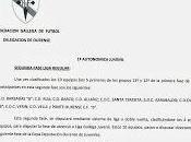 Liga Copa Juvenil Ourense, segunda fase: Calendarios normas