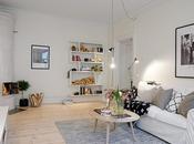 Acogedor salón estilo nórdico