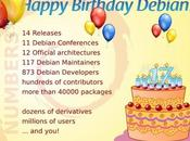 Feliz Cumpleaños Debian años)