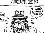 Robert Crumb: hate super heroes..""