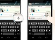 WhatsApp para Android incorpora Mensajes