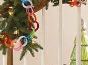 Diy letras decoradas con lana paperblog - Escaleras decoradas en navidad ...
