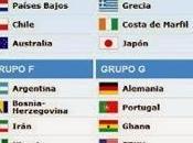 Copa Mundial FIFA Brasil 2014: Argentina sonríe, Chile Uruguay aprietan dientes.