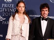Alonso recoge trofeo subcampeon gala reta bull