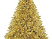 Lindos árboles navidad dorados