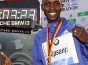 Nuevo record mundial marathon.