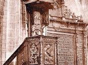 púlpito iglesia Santa María: Aranda Duero, Burgos.