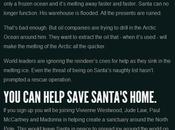 ¡Navidad cancelada! Nueva campaña Greenpeace para salvar Ártico