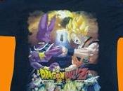 Dragon Ball T-SHIRT Batalla Dioses TAMAÑOS