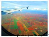 Zacatecas from plane!