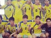 Club balonmano punta arenas tituló campeón nacional liga serie cadetes