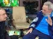 Fidel recibió escritor Ignacio Ramonet