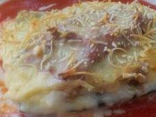 Calabacín relleno carne