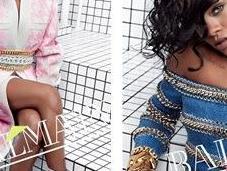 Rihanna nueva imagen Balmain