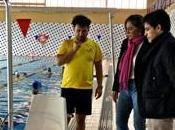 piscina Galapagar estrena silla elevadora para personas movilidad reducida