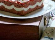 Tarta Ondulada Roja Blanca