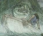 Sobre tortugas,ballenas calamares obra Tolkien