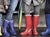 Street style inspiration; rain boots