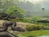 Titanoboa, serpiente grande existido