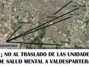 Concentración contra traslado Unidades Salud Mental