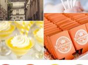 Colour board #48. Cayenne, celosia orange, freesia, sand