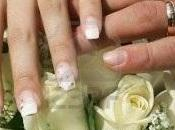 Uñas manicure novia