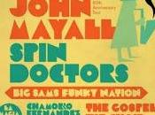 John Mayall Spin Doctors lideran Black Music Festival 2014