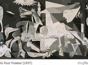 """TURISTAespaña: Guernica Pablo Ruiz Picasso 1937. Museo Nacional Centro Arte Reina Sofía MNCARS Madrid. Canción """"Nana"""" Manuel Falla. GUERRA."""