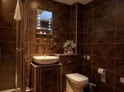 Diseño baños color marrón