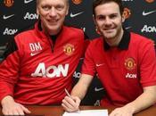 Juan Mata llega Manchester United cifra récord