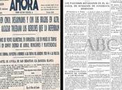 prensa durante Asedio Alcazar Toledo Guerra Civil