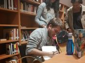 Encuentro literario Javier Ruescas Francesc Miralles