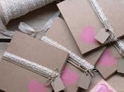 Invitaciones boda papel kraft