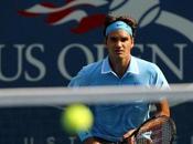 Open: tenis arrollador, Federer puso tercera