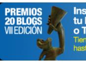 Vota Otra corriente VIII edición premios 20blogs 2013