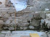 Descubren calzada cloaca romanas bajo Mezquita Cristo Toledo