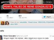 René González Sehwerert tendrá cuenta Twitter, pero perfil está ahora falso