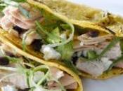 Tacos indianos bonito anchoas. Nutrición recetas. Cantabria