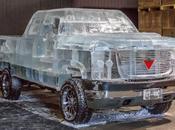 Construyen camioneta hielo Canadá