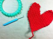 Teje corazón para Valentín
