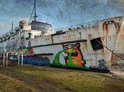 Duke Lancaster, barco fantasma cargado graffitis