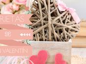 Tarjetas románticas imprimibles Valentín