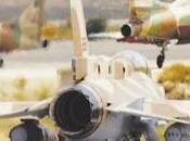 Aviones combate israelíes bombardeado base siria Latakia