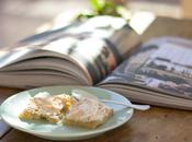 Meringue clementine bars Torta merengue clementina