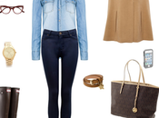 Look Denim&Brown
