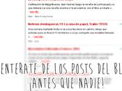 Noticias Domingueras Nuevos autores [Tríada], Academia Vampiros, mucho más.