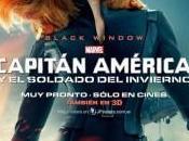 Nuevo póster Viuda Negra para Capitán América: Soldado Invierno