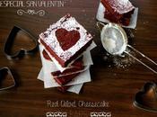 Especial Valentín: velvet cheesecake bars